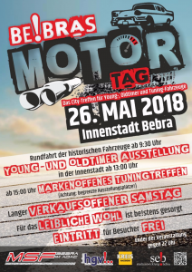 Flyer Be!bras Motortag 2018